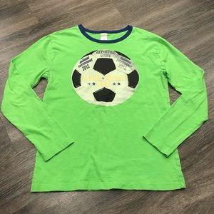 CrewCuts Soccer Long Sleeve Tee